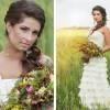 Букет невесты в стиле рустик