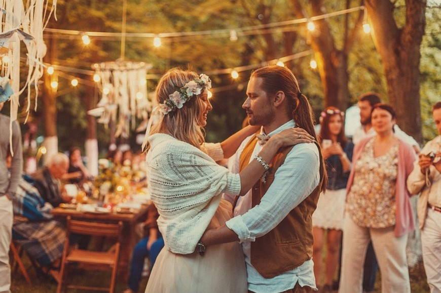 Экологичность свадьба в стиле бохо