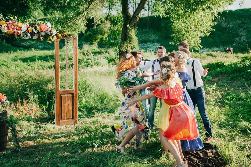 Настроение свадьбы в стиле бохо
