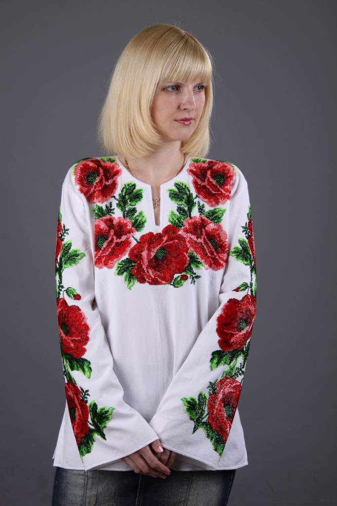 Свободная украинская вышиванка