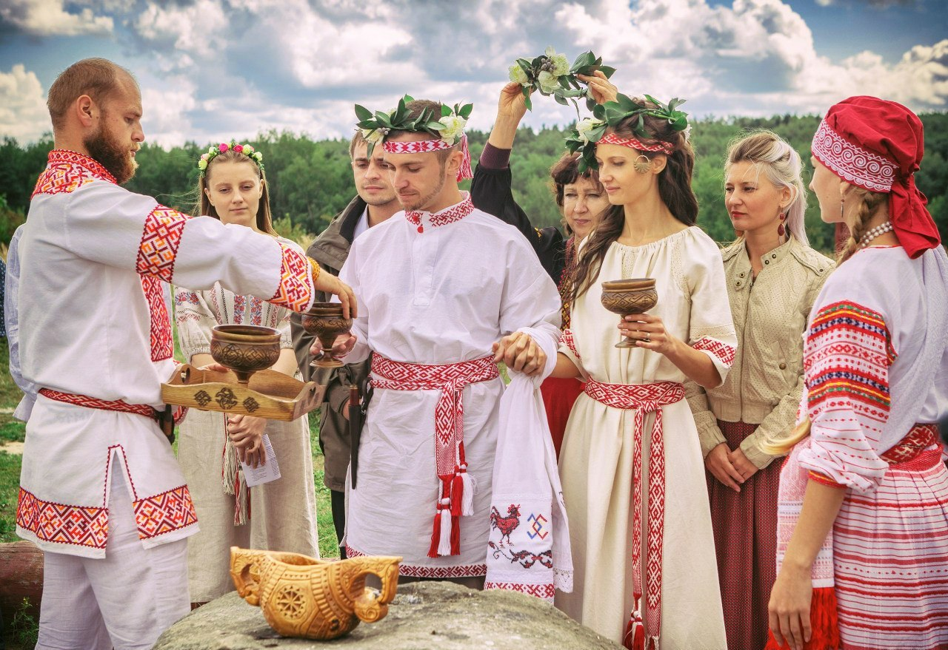 Обычаи и традиции Беларуси. Свадьба