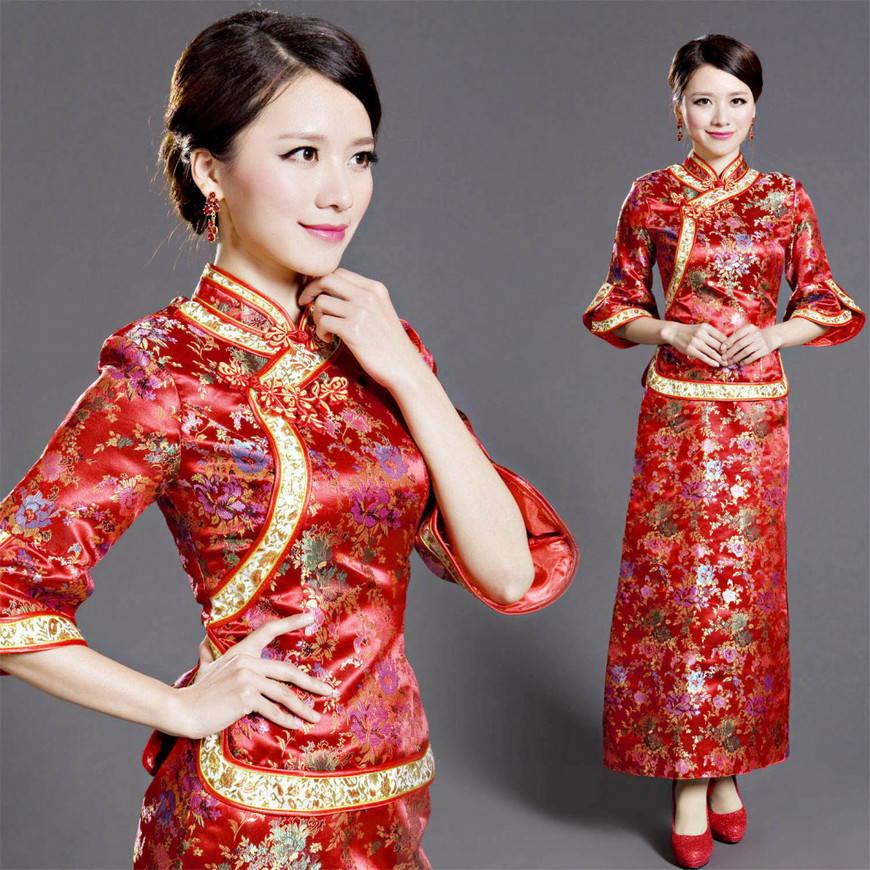 современный китайский костюм