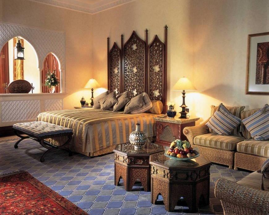 Спальня в стиле хинди