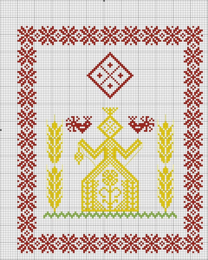Схемы для украинских вышивок