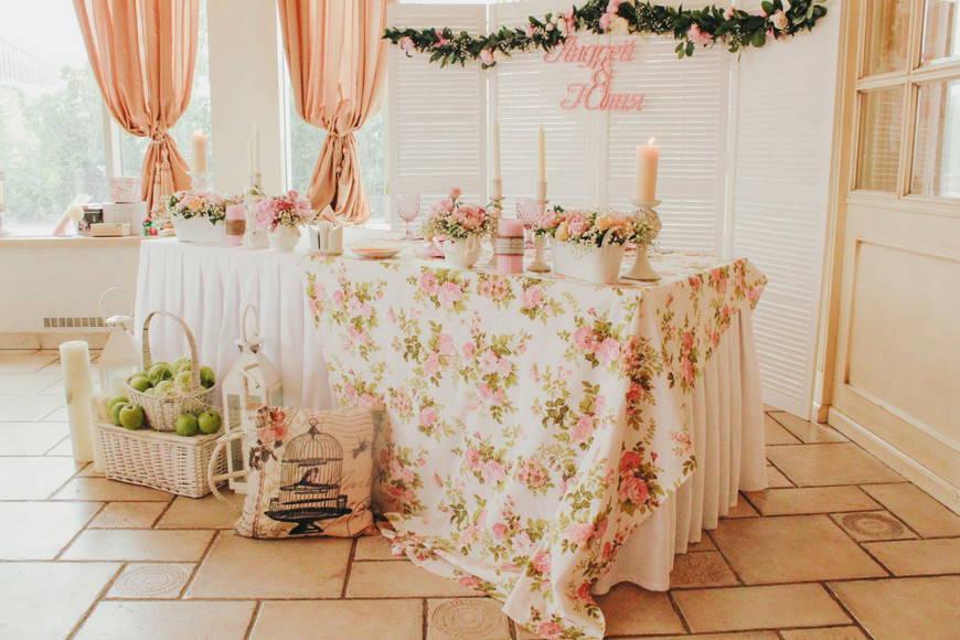 свадьбный текстиль