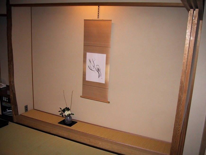 Токономе -интерьер в японском стиле