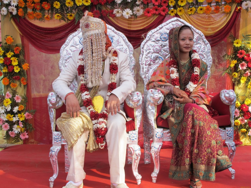 свадьба в Индии.