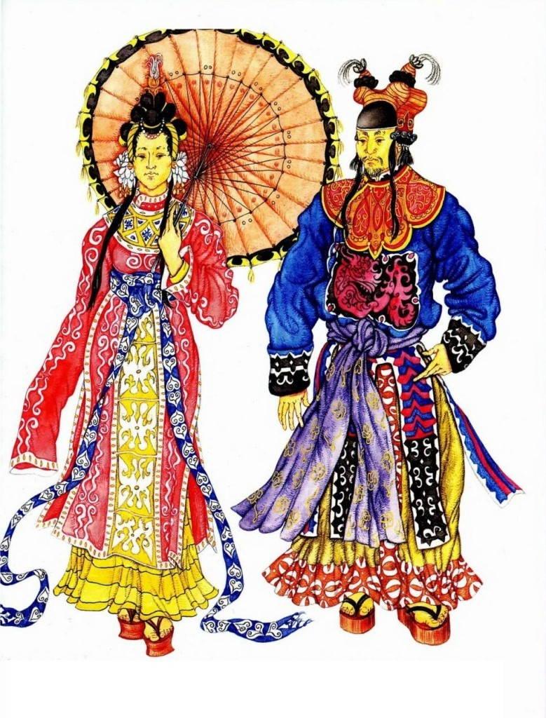 История китайского наряда