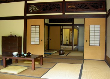 Оттенки японского интерьера