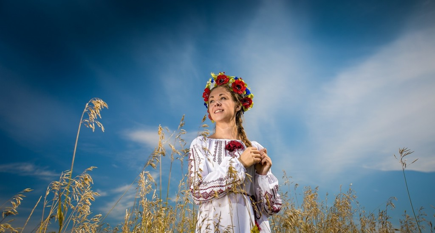 Разнообразие украинских вышиванок