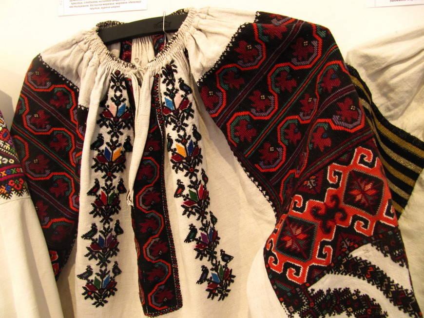 украинская вышивка -хранительница истории рода