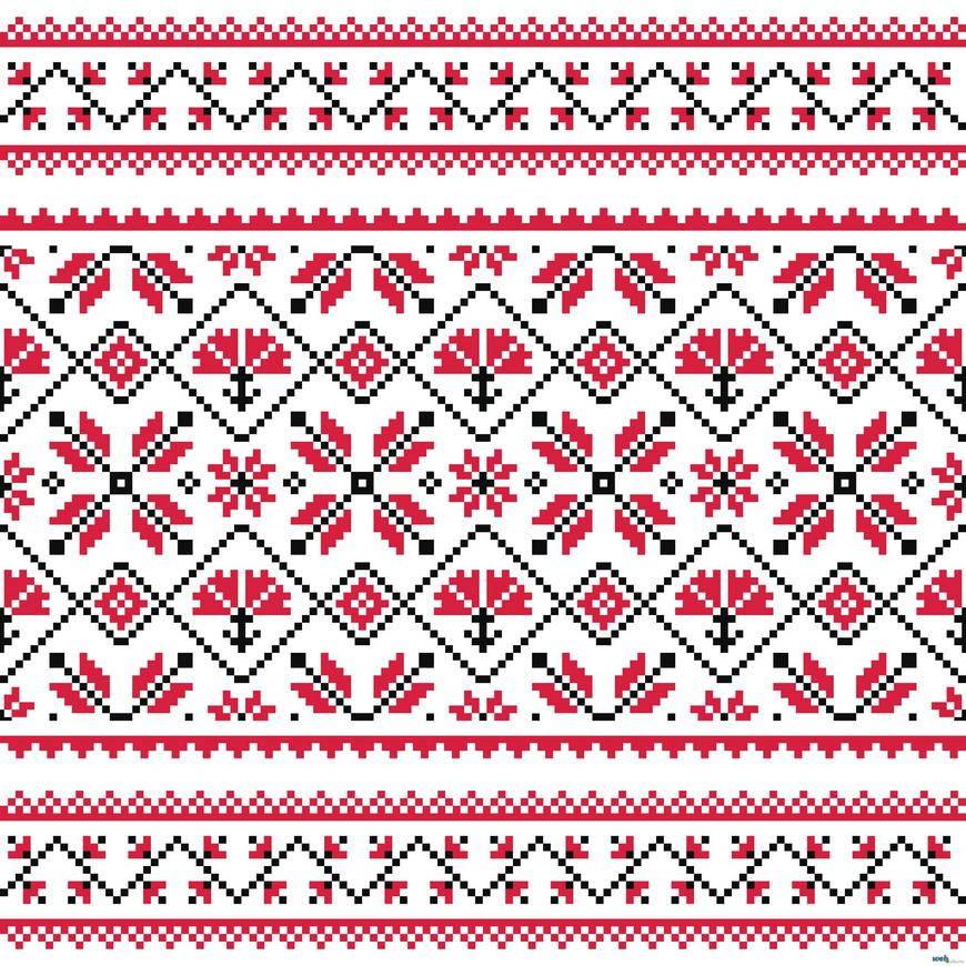 Украинская вышивка скачать