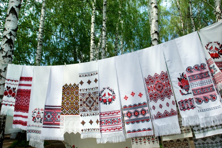 украинская вышивка- рушники