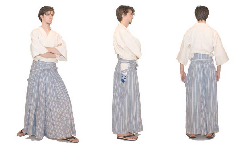 Хакама японское кимоно