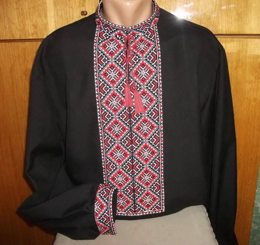 Украинские мужские вышиванки