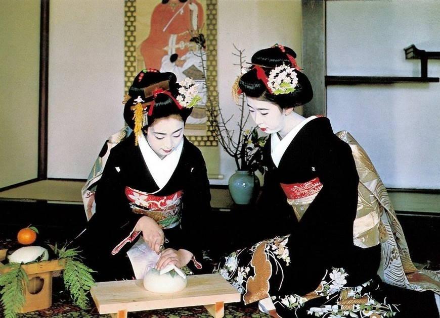 Иромудзи японское кимоно