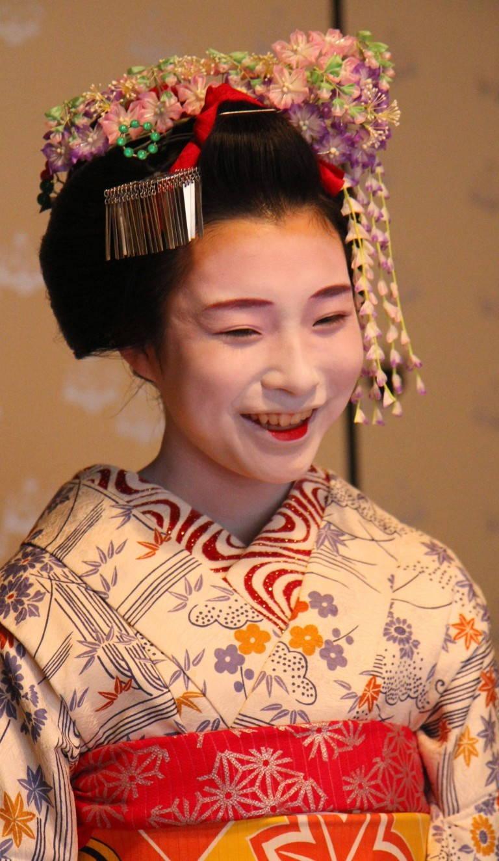 Украшение головы японки своими руками 76