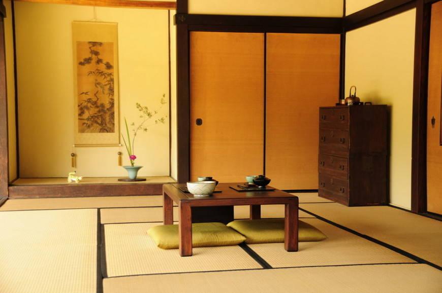 Аксессуары -японский стиль в интерьере