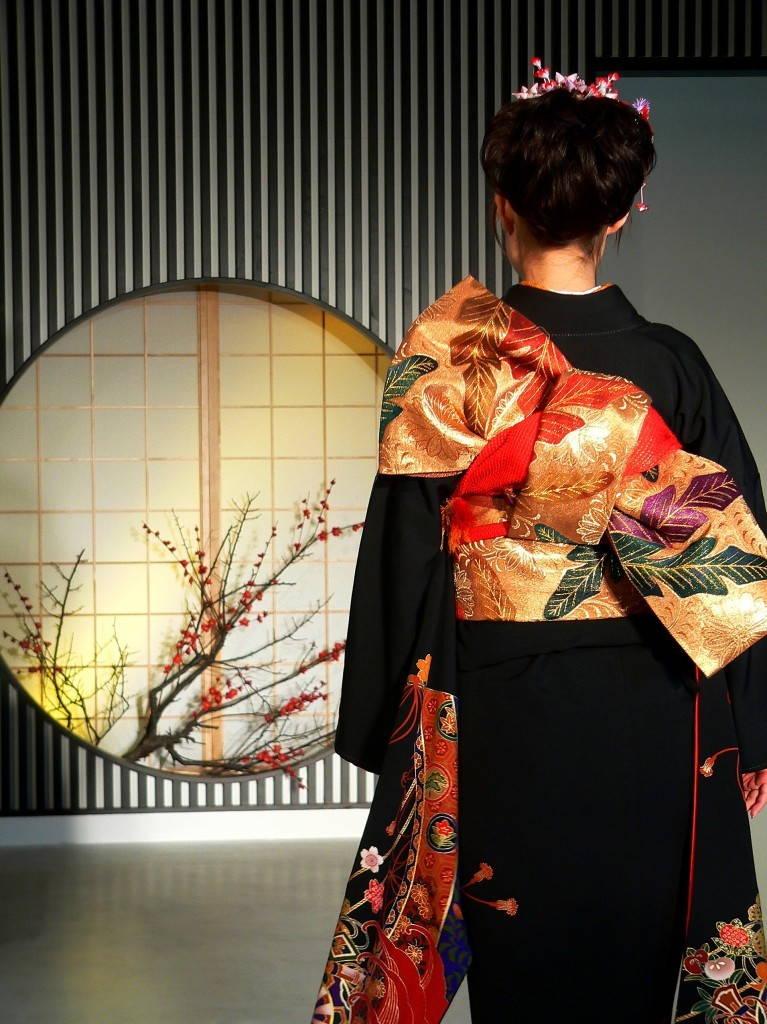 оби пояс японское кимоно