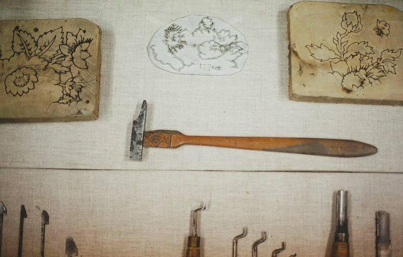 Инструменты для набивания на ткани