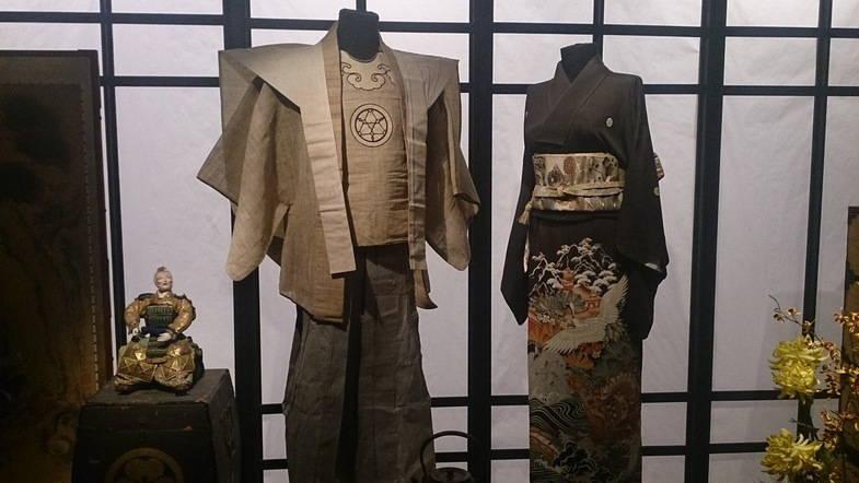 Мужское и женское кимоно