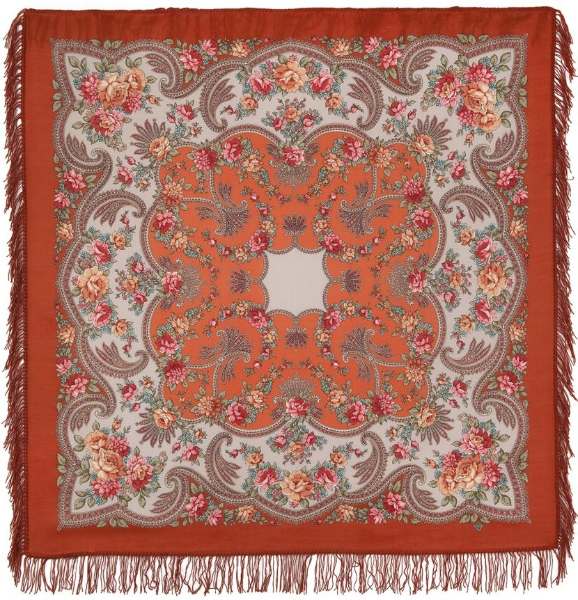 Оранжевый платок