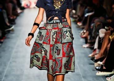 Африканский стиль на показах моды