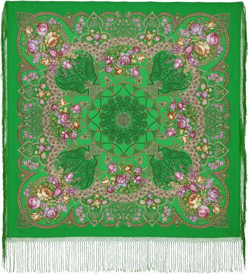Зеленый платок