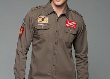 Рубашки в стиле милитари