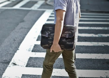 Уличная мода в стиле милитари для мужчин