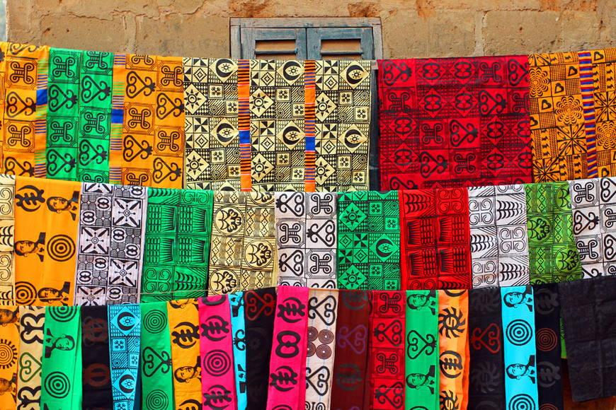 Ткани в африканском стиле