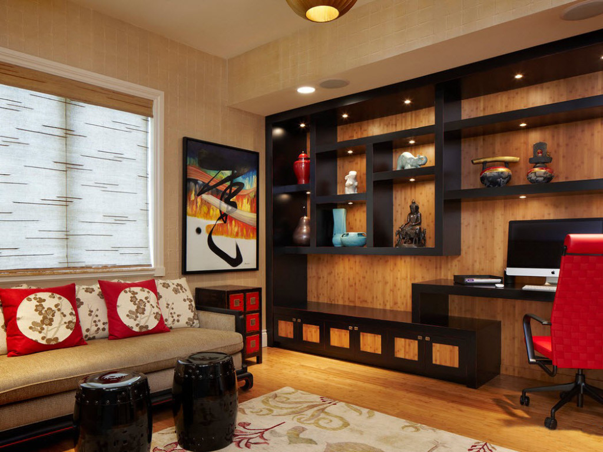 интерьер комнаты-декор