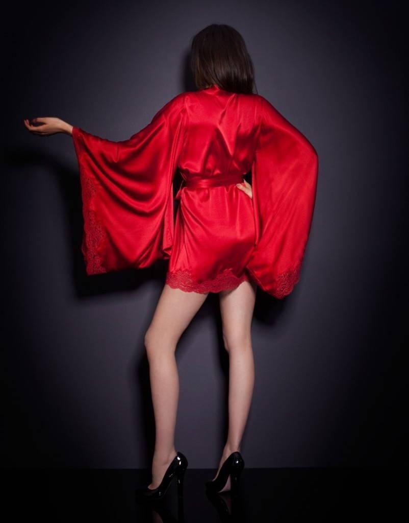 Японское кимоно-халат