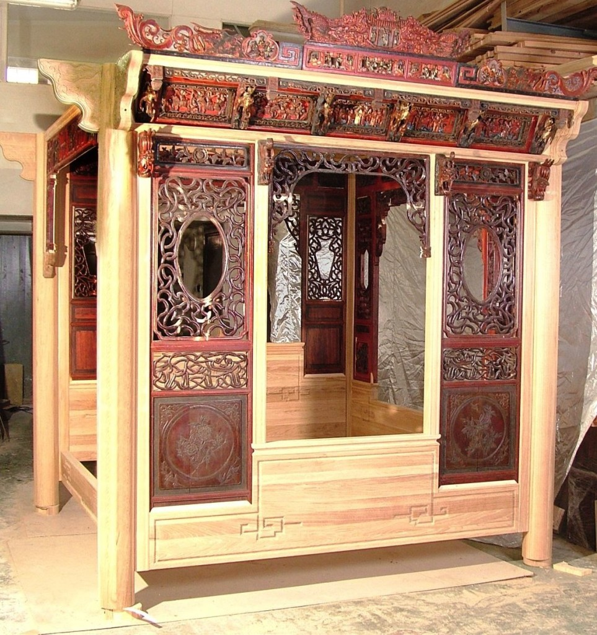 Китайский декор мебели
