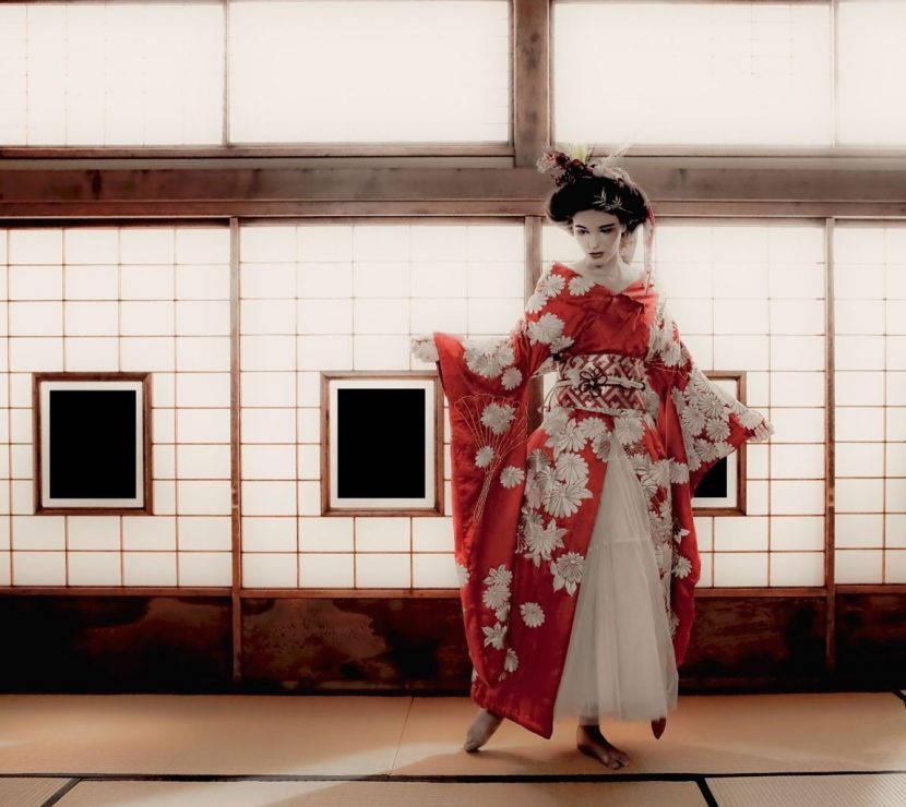 Кимоно женское