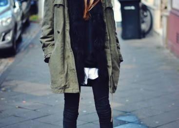 Демисезонная одежда в стиле милитари