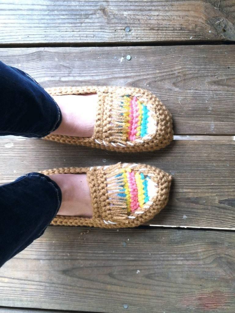 мокасины крючком особенности обуви и советы по созданию