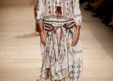 Этнический стиль на показах моды