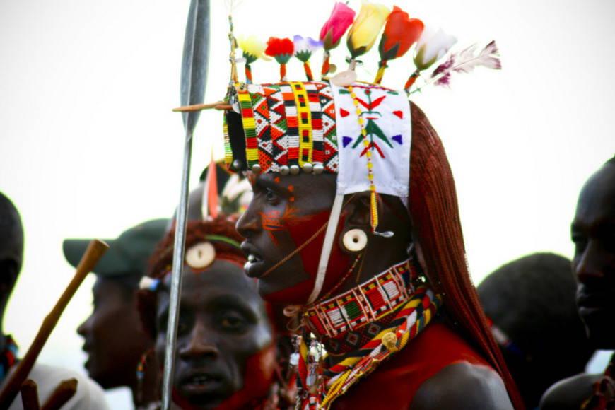 Африканский мужчина