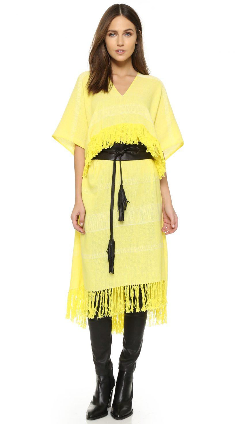 Платье-пончо