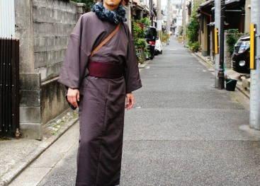 Мужское кимоно