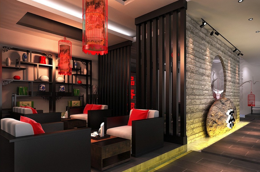 Дизайн в китайском стиле фото