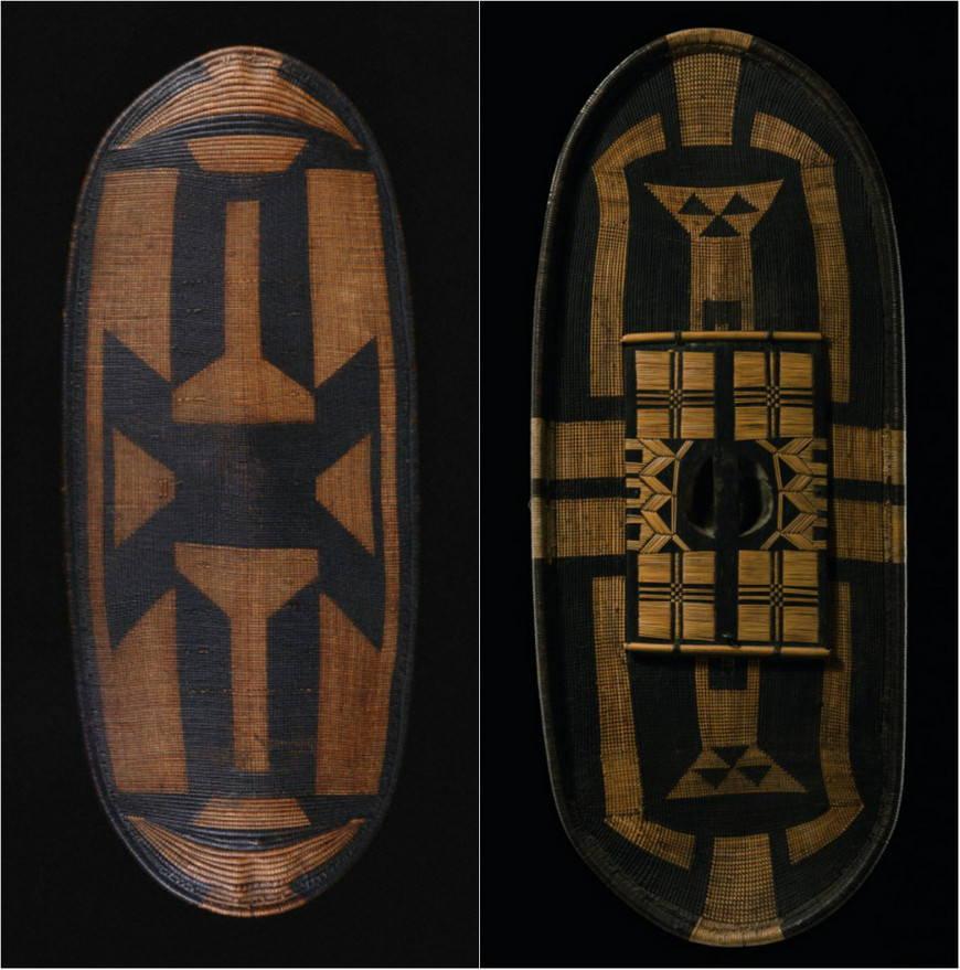 орнаменты племен Конго