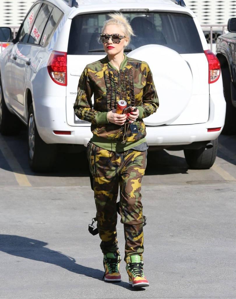 Женский костюм милитари