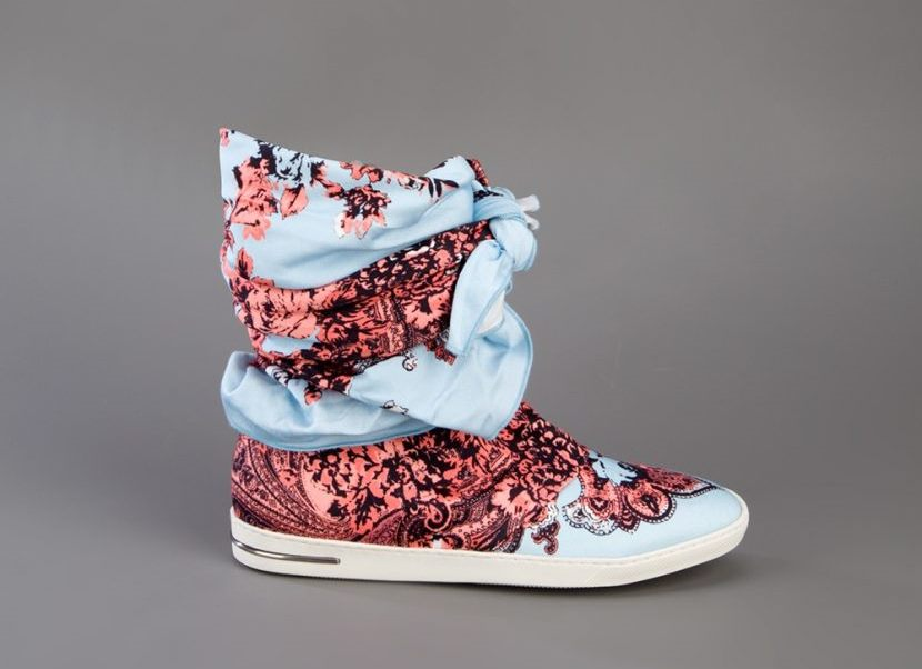 Высокие кроссовки от Judari