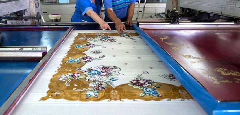 Изготовление павлопосадского платка