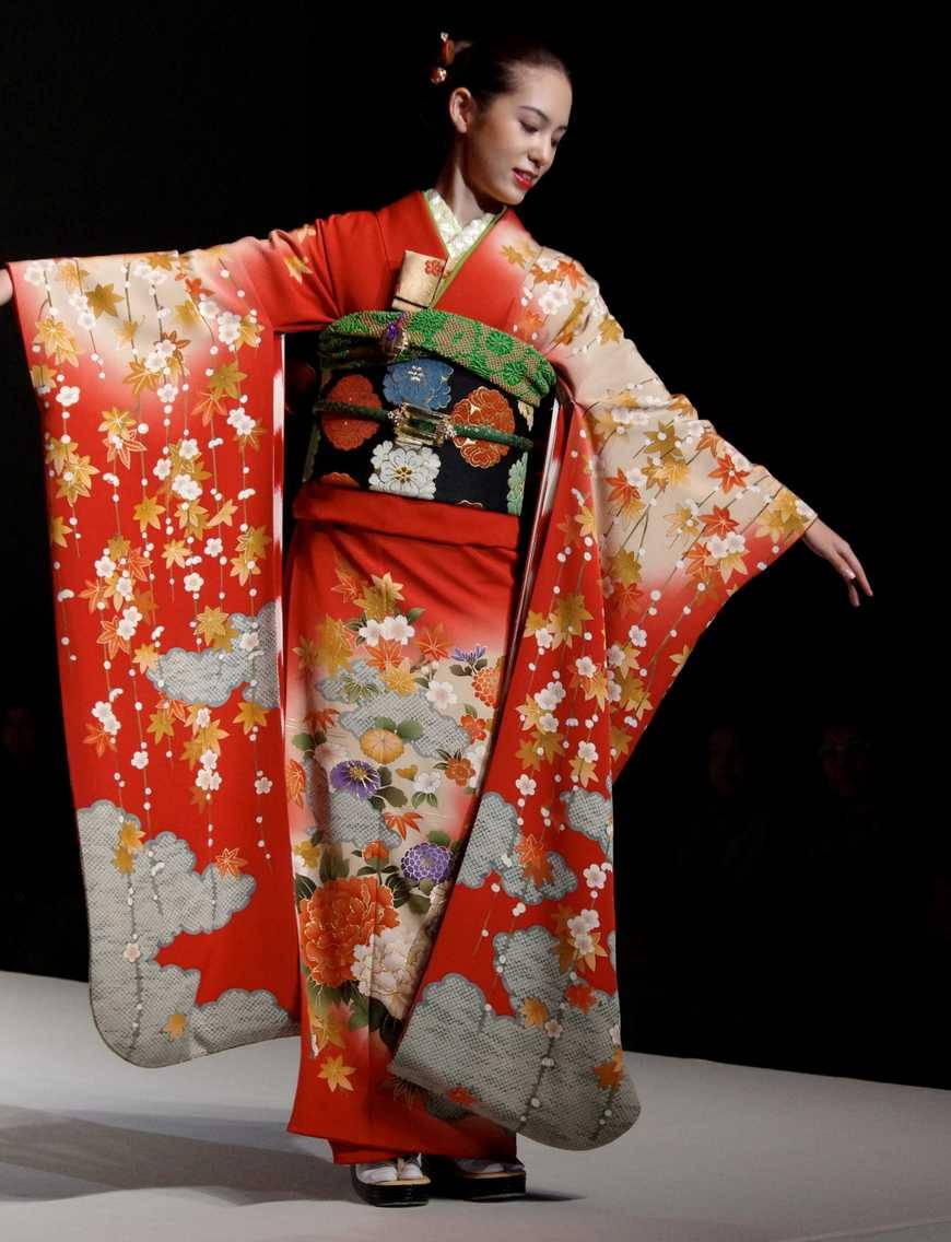Японские кимано своими руками