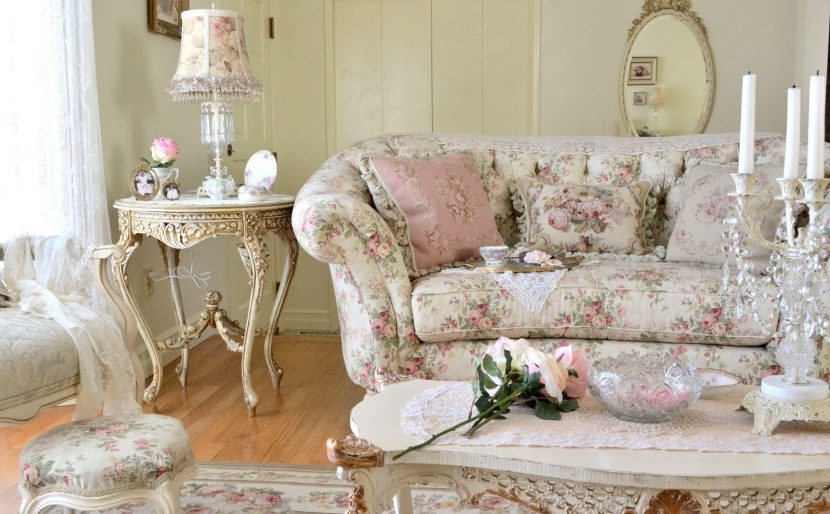 Дизайн мебели в стиле шебби шик