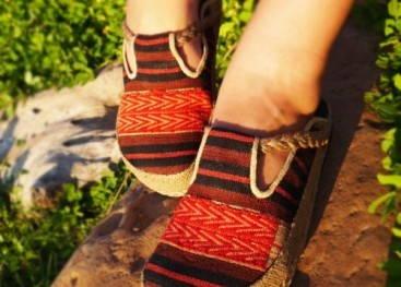 Обувь в этностиле