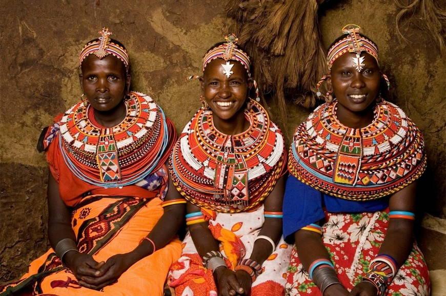 Африканский этно-стиль